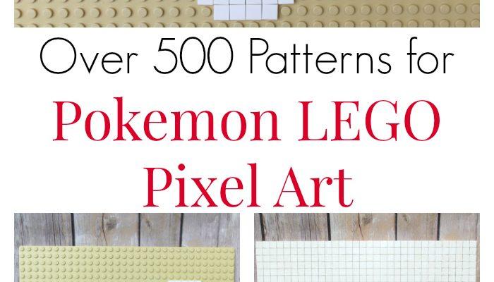 Over 500 of the Best Ideas For Pokemon LEGO Pixel Art