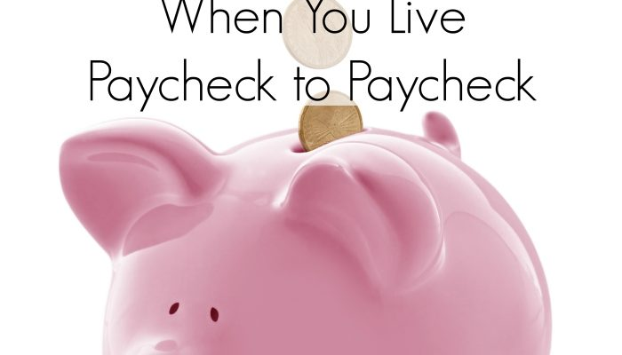 How To Build A Nest Egg, When You Live Paycheck to Paycheck
