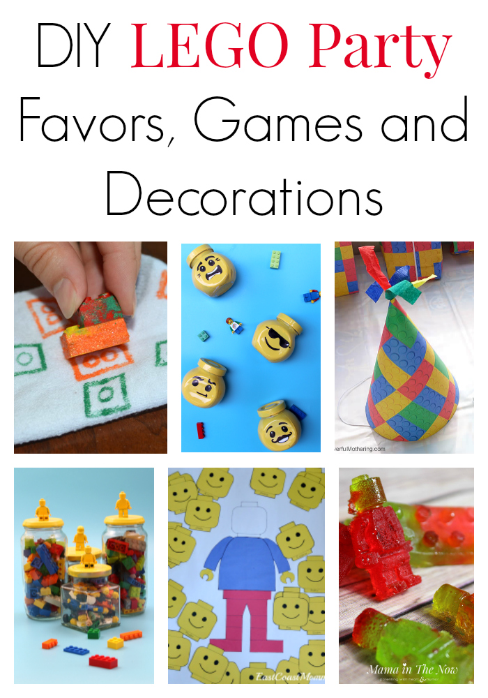 Tips and directions for how to host a LEGO party on a budget. Great DIY ideas for LEGO party favors, games and decorations. LEGO birthday success is guaranteed!