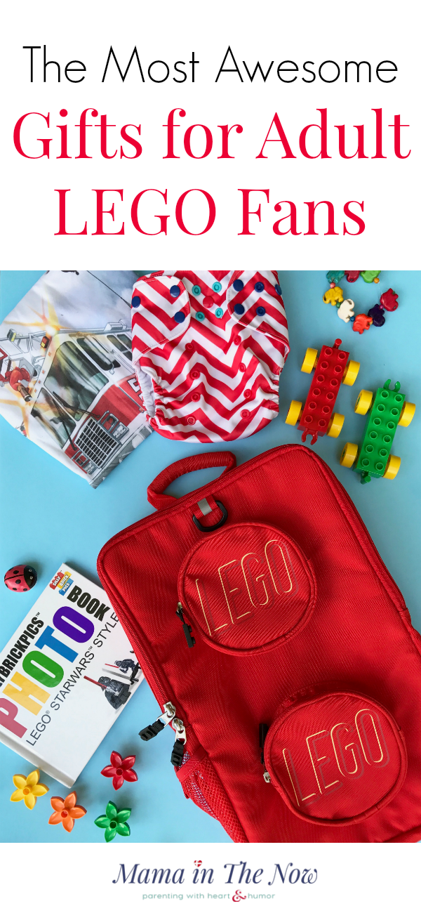 Gift ideas and inspiration for Adult fans for LEGO (AFOL). Everything from backpacks, books, cufflinks and office supplies. These gifts are sure to please for birthdays, Father's Day, Mother's Day and Christmas. LEGO gift ideas and inspiration for adults.