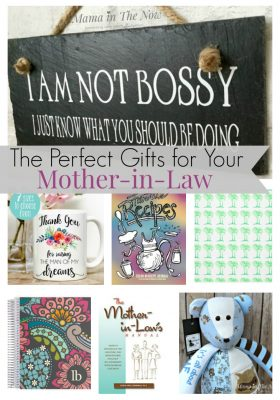 Find the perfect gifts for your mother-in-law - for birthday, Christmas, Mother's Day or anniversaries. Regardless of your relationship, we have the right gift for your family. You will be the daughter-in-law of the year!