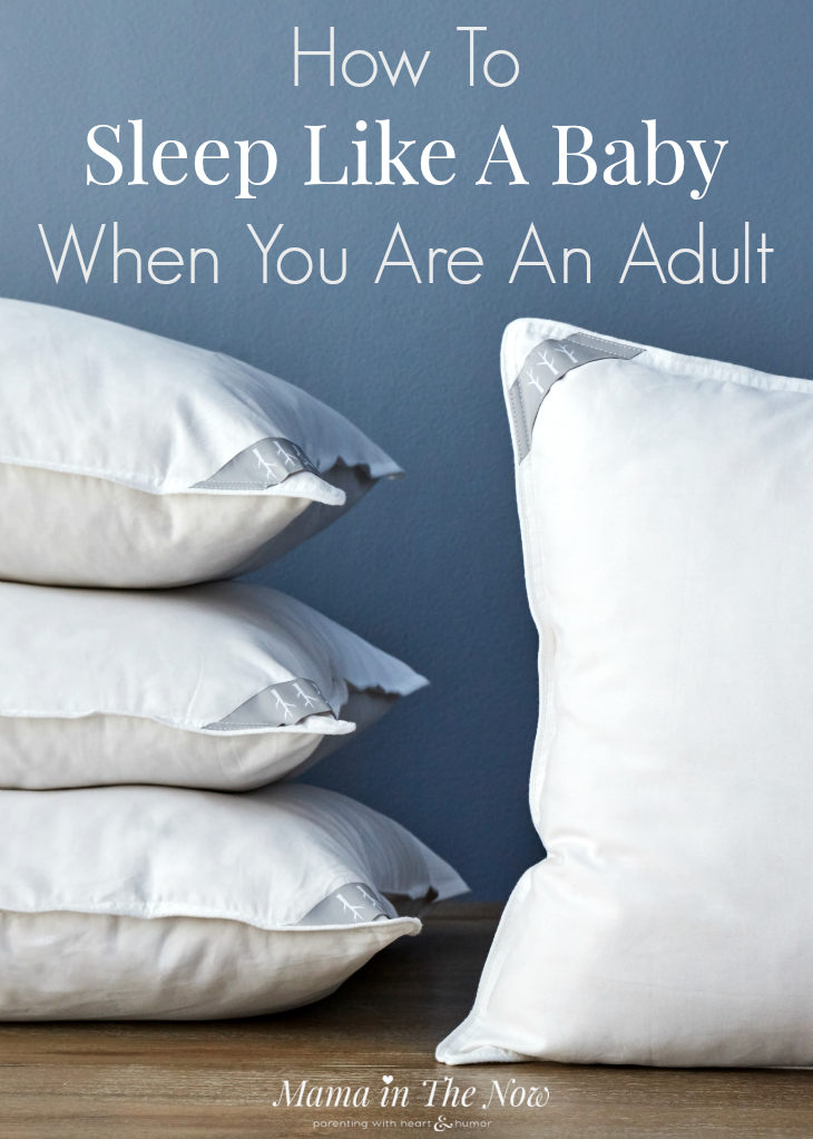 Parents are sleep-deprived, tired and exhausted. Moms everywhere need sleep. I share my best tips for adults to sleep like a baby. Great collaboration with Brentwood Home. Sleep tips, tricks and hacks.