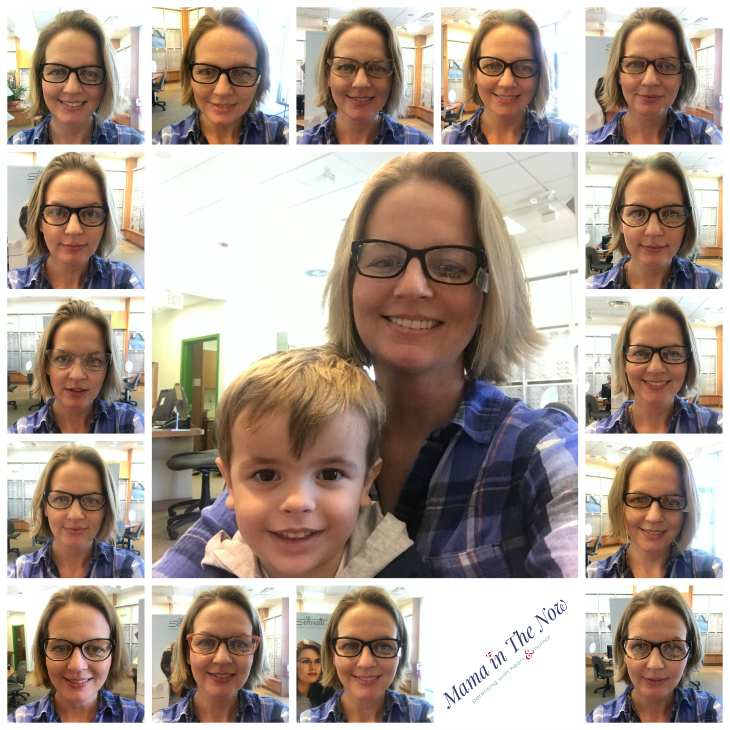 Pearle Vision was exactly what I needed to be able to enjoy the finer details of motherhood.