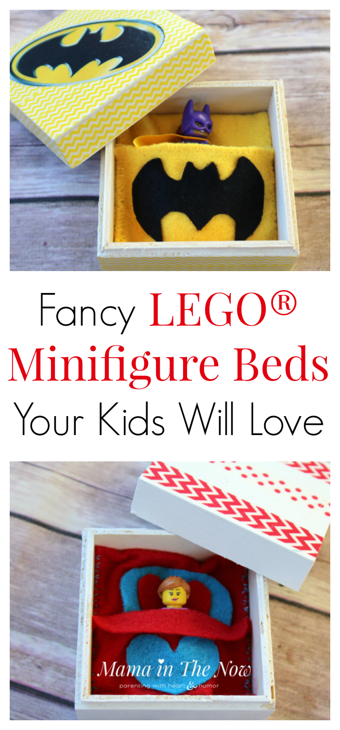 Don't lose another LEGO Minifigure. This LEGO Minifigure bed is the perfect LEGO storage solution for busy moms and kids who have too much LEGO!