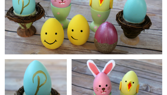 How To Decorate Wooden Eggs When You Want To Be A Fun Mom