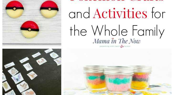Pokemon Crafts and Activities For The Whole Family
