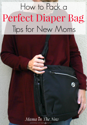 Going out, for the first time with a newborn is daunting, overwhelming and scary for new moms! These tips and hacks to pack a diaper bag will give you confidence that you have what you need. How to pack a perfect diaper bag - tips and hacks for new moms.
