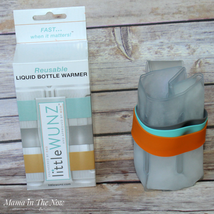 Little Wunz bottle warmer. Baby shower gift, on-the-go bottle warmer, no electricity or batteries needed. Reusable, green baby