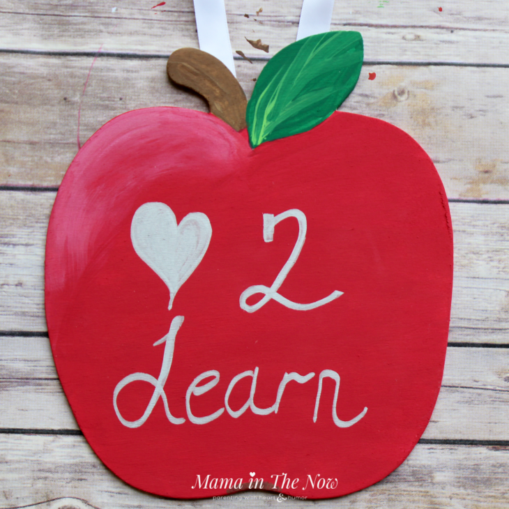 This personalized teacher gift, classroom sign was a huge hit for teacher appreciation week and back to school.