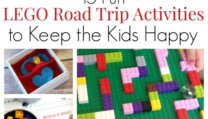 15 fun LEGO Road Trip Activities To Keep The Kids Happy