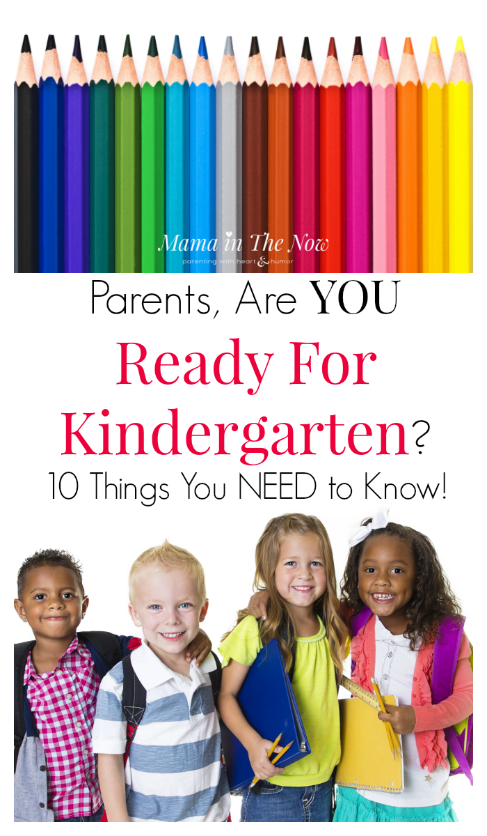 Kindergarten parents, are YOU ready for kindergarten? 10 tips and hacks you NEED to know before sending your kid to school. Morning routine hacks, car line tips, homework tips - even ideas of getting your kid to wear their uniform - from a mother of four.