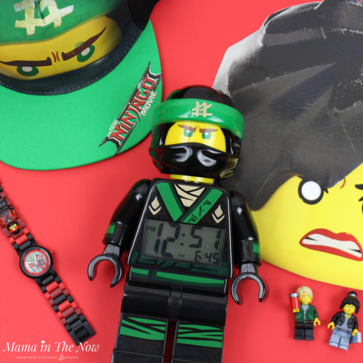 The LEGO NINJAGO movie encourages your kids to look at things differently - to find your inner ninja. Special kids have special powers! The LEGO Watches and Clocks products are a perfect addition to any LEGO room!